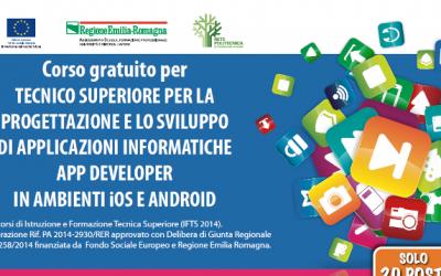 Corso gratuito per tecnico superiore per la progettazione e lo sviluppo di Applicazioni informatiche App developer in ambienti iOS e Android