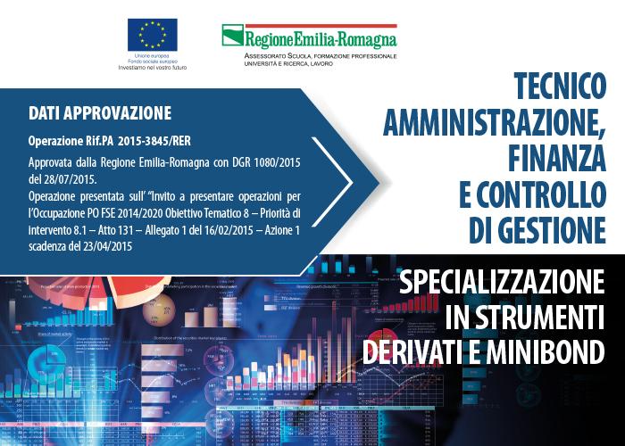 Tecnico amministrazione, finanza e controllo di gestione – Specializzazione in strumenti derivati e minibond