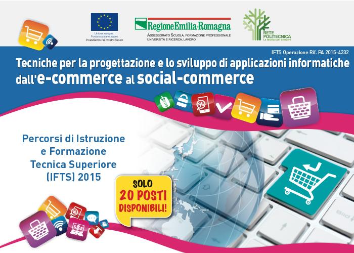 Corso IFTS – Tecnico superiore per la progettazione e lo sviluppo di applicazioni informatiche: dall'e-commerce al social-commerce