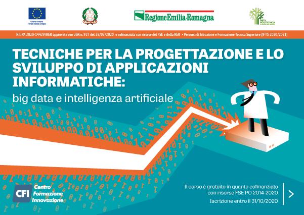 Corso IFTS – TECNICHE PER LA PROGETTAZIONE E LO SVILUPPO DI APPLICAZIONI INFORMATICHE: Big Data e Intelligenza Artificiale