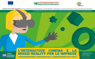 Corso – L'INTERACTIVE CINEMA E LA MIXED REALITY PER LE IMPRESE