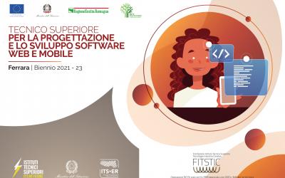"""CFI in collaborazione con Fitstic, organizza a Ferrara il primo corso ITS per: """"TECNICO SUPERIORE PER LA PROGETTAZIONE E LO SVILUPPO SOFTWARE WEB E MOBILE"""""""